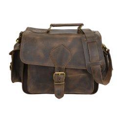 Επαγγελματική Τσάντα Δερμάτινη Camera Bag Corium N205 Waxed Brown