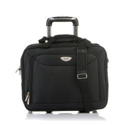 Χαρτοφύλακας Τροχήλατος (Pilot) - Επαγγελματική Τσάντα RCM WS03-16G Black