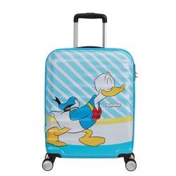 Βαλίτσα Καμπίνας Σκληρή American Tourister Disney Wavebreaker 55cm 85667-8661 Donald Blue Kiss