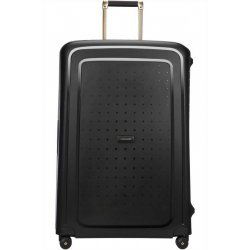 Βαλίτσα Σκληρή Samsonite S' Cure DLX Spinner 81cm 59237-7246 Black Gold Deluscious