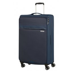Βαλίτσα Μαλακή American Tourister Lite Ray Spinner 81cm 130173-1552 Midnight Navy
