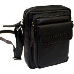 Τσάντα 'Ωμου Δερμάτινη The Chesterfield Brand Jeff C48.071400 Black