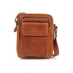 Τσάντα 'Ωμου Δερμάτινη The Chesterfield Brand Jeff C48.071431 Cognac