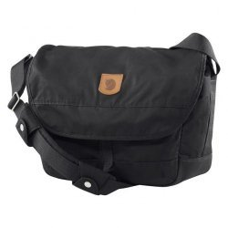 Τσάντα ώμου ταχυδρομική Fjallraven Greenland Shoulder Bag 28 23154-550 Laptop 15'' Black