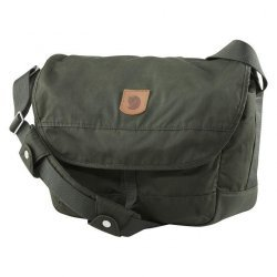 Τσάντα ώμου ταχυδρομική Fjallraven Greenland Shoulder Bag 28 23154-662 Laptop 15'' Deep Forest